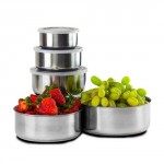 10 Piece: Stainless Steel Storage Bowl Set - $8.99 Shipped