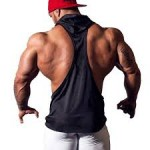 YiZYiF Hooded Bodybuilding Stringer -  <span> $6.95</span>