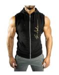 DriFit Sleeveless Zipper Bodybuilding Hoodie  - $20.99 + Free Shipping
