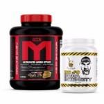 5LB MTS MACHINE WHEY + Big J's Intensity Pre Workout - $54.99