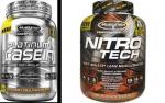 2LB Nitro-Tech + 2LB Platinum Casein - $32.99