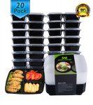 20/pk HomeNative Meal Prep Containers Set - <span> $7.99 Shipped</span>