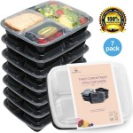 7/pk HomeNative Meal Prep Containers Set -  <span> $7.99 Shipped</span>
