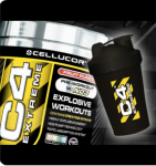 Cellucor C4 Extreme (60 serv) + Shaker - $25 w/Campus Protein Coupon
