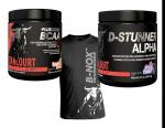 New D-Stunner Alpha PWO +  BCAA + B-NOX Shirt - $24.99! w/ Campus Protein Coupon