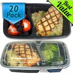 20/pk - 32oz Meal Prep Containers Set -  <span> $17.99 Shipped</span>