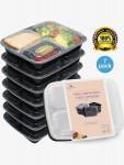 7/pk HomeNative Meal Prep Containers Set - <span> $7.99 Shipped</span>