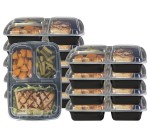 10/pk Pakkon 3 Compartment Bento Box - <span> $11.99 Shipped</span>