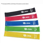 5/pk Limm Exercise Resistance Loop Bands-  <span> $9.99 Shipped</span>