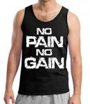 No Pain No Gain Workout Tank - <span> $11.99 </span>