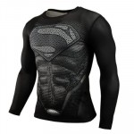 Print Compression Long Sleeve Shirt - <span>$9.5 + Free Shipping</span>