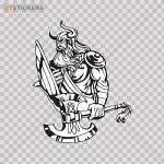 Decal Stickers Muscular Hero Toughness -  <span> $1.90</span>