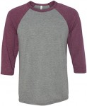 Bella + Canvas Baseball Tee - <span> $8.83 Shipped</span>