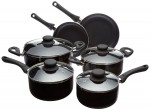 AmazonBasics Nonstick Cookware Set -  <span> $22 Shipped</span>