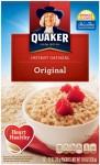 12/pk Quaker Instant Oatmeal - <span> $2.50 </span>