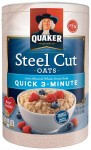 Quaker Steel Cut Oatmeal - <span> $4 Shipped</span>