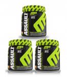 3 x 30s Muscle Pharm ASSAULT Pre Workout <span> $27.99 ($9ea)</span>