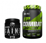 2LB Combat 100% Whey +MP Gainz- <span> $21.99 </span> w/ Coupon