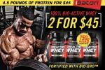 2.3LB iSatori Bio-Active Protein - <Span>$19.99ea</Span>  w/Campus Protein Coupon