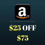 AMAZON: <Span> $25 OFF $75 </span> On a Large Selection of Items