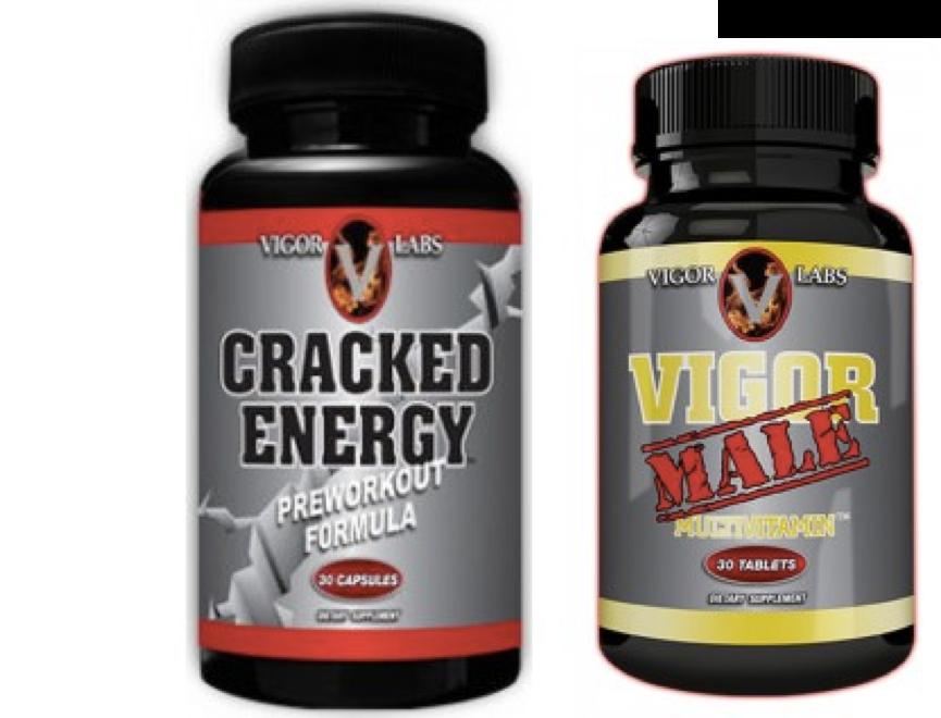 Vigor Labs - Multivitamin + Cracked Energy - $9.99