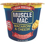 Muscle Mac High Protein Macaroni and Cheese -  <span> $1ea</span>