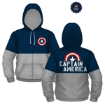 Official Captain America Hoodie - <span> $14.99 Shipped</span>