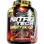 5.5LB MuscleTech Nitro-Tech 100% Whey Gold - <span> $32</span> W/Coupon