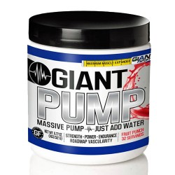 Giant Sports - Giant Pump Stim-Free Pre-Workout