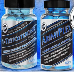 HI-TECH PHARMA 1-TESTOSTERONE + ARIMIPLEX - <span>$59.95!</span>