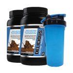 4LB - Giant Sports Delicious Protein Elite + Shaker - <Span> $25</span>