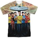 Star Trek Sci-Fi Action T - Shirt -  <span> $14.88 Shipped </span>