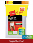 8/pk Hanes FreshIQ Briefs  - <span>$7.5 Shipped</span> w/Coupon