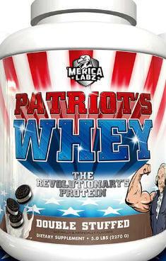 Merica Labz Patriot's Whey