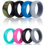 Silicone Wedding Ring  - <span> $6.99 Shipped</span>