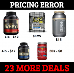 Pricing Error on Vitamin World- <span> 75% OFF </span>