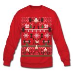 Gym Weightlifting Ugly Xmas Sweater - <SPAN>$27.74 Shipped</SPAN>