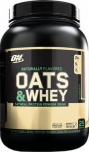 Optimum Nutrition : Natural 100% Oats & Whey