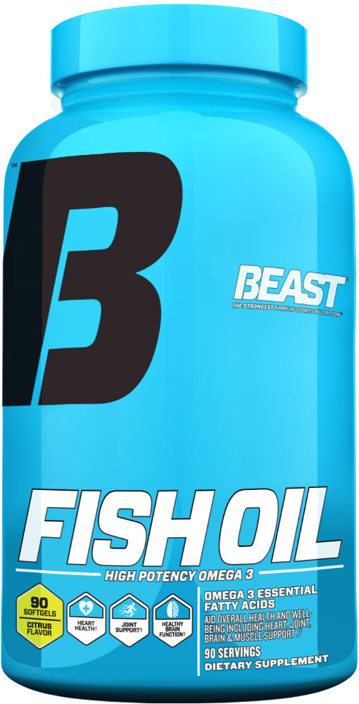 Beast fish oil compare prices fitness deal news for Fish oil testosterone