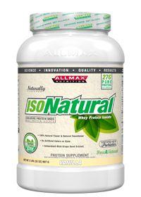 AllMax Nutrition : IsoNatural