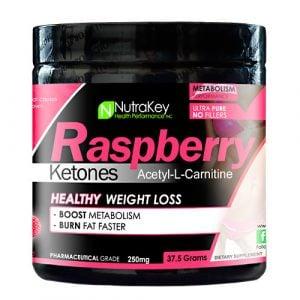 Nutrakey : Raspberry Ketones Acetyl-L-Carnitine